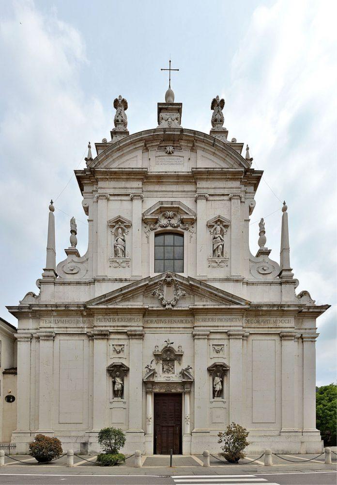 Basilica Ss Faustino Giovita Brescia facciata