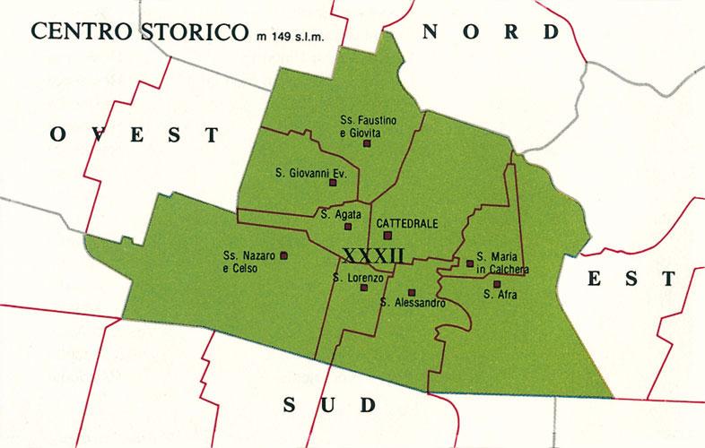 XXXII – ZONA URBANA - BRESCIA CENTRO STORICO